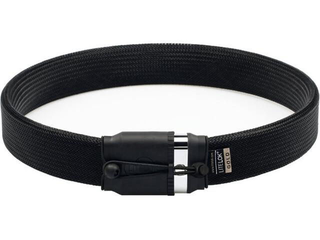 Litelok Gold Wearable Candado, black